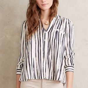 Maeve button-down, size 6, EUC, for Anthropologie